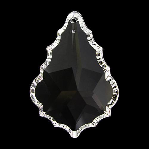 Pendente foglia Swarovski color cristallo 76 mm - 8901