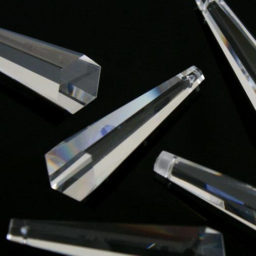 Pendente prisma asimmetrico molato 76 mm -Asfour 505-