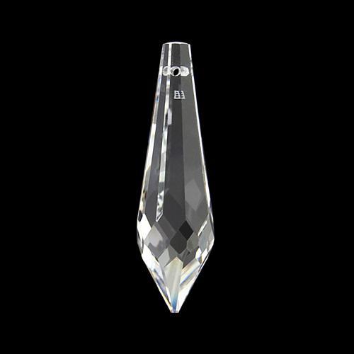 Pendente prisma Swarovski sfaccettato 50 mm cristallo - 8611