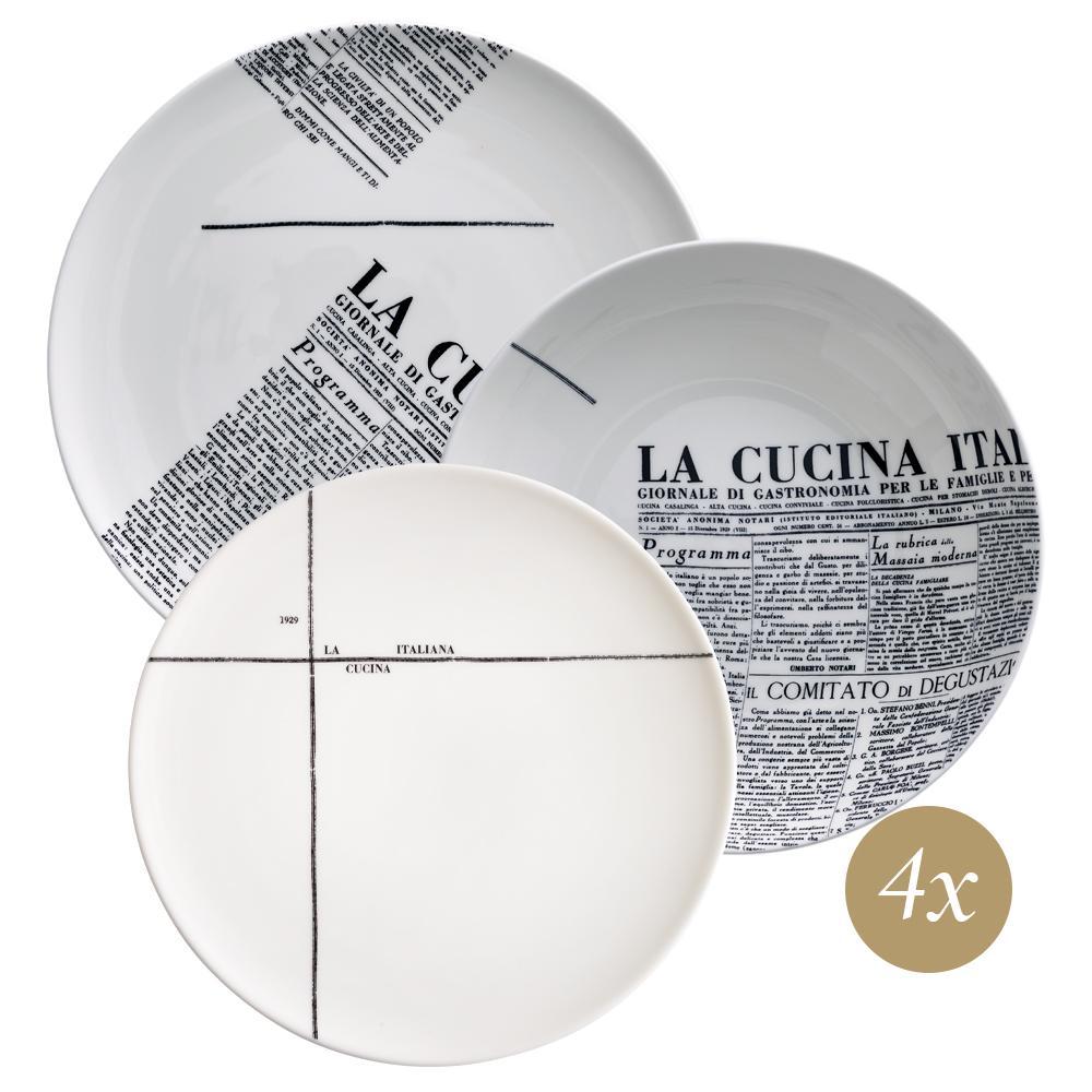 Set 12 pezzi | Geometric | La Cucina Italiana