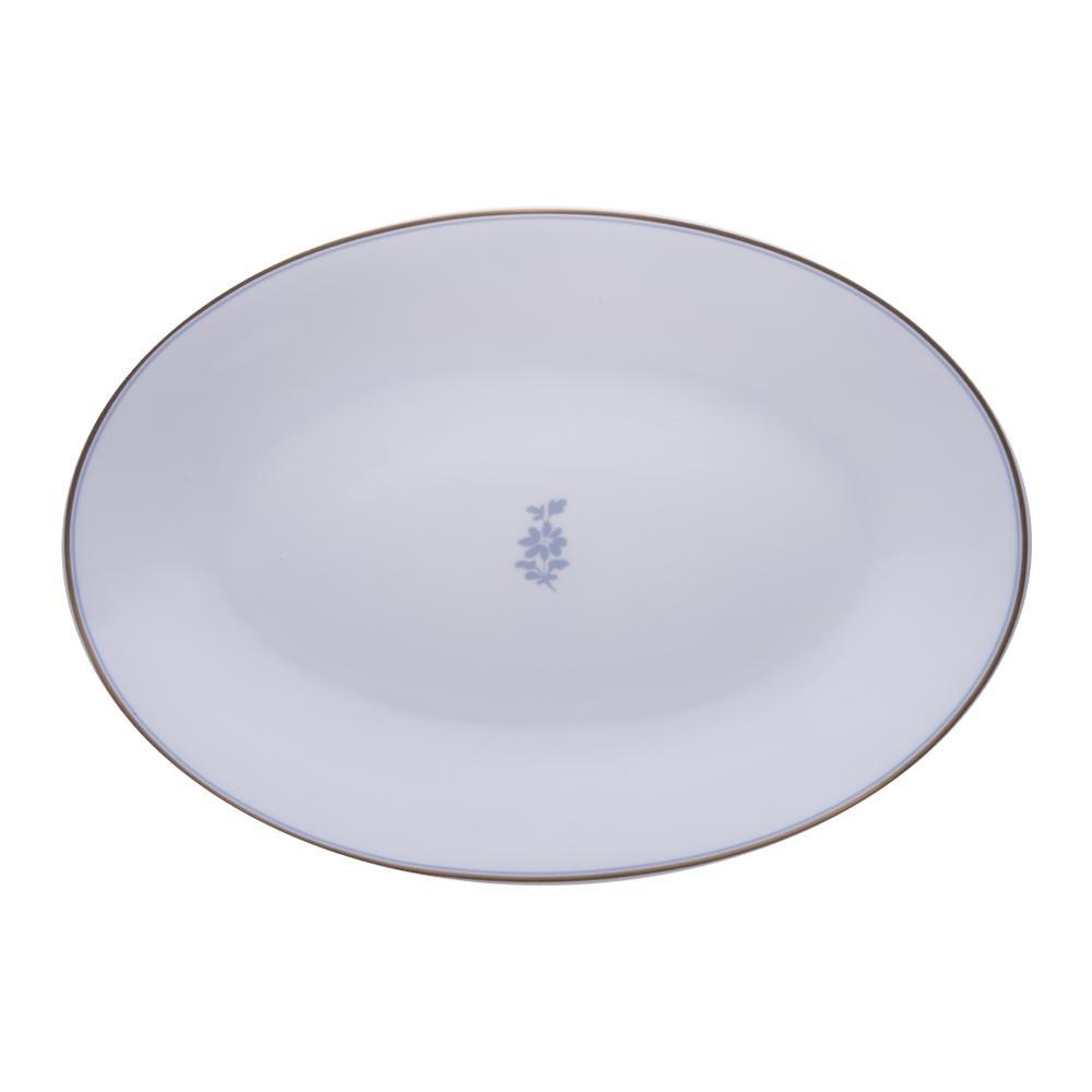 Piatto ovale cm 36 | Feston e Cadena Azzurro