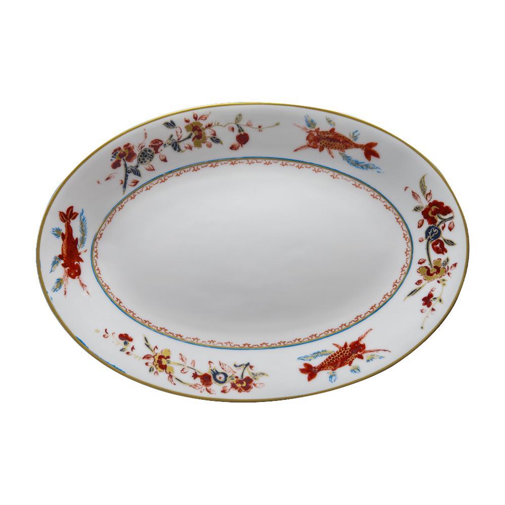 Piatto ovale cm 26 | Chinesi Fiori Finiti