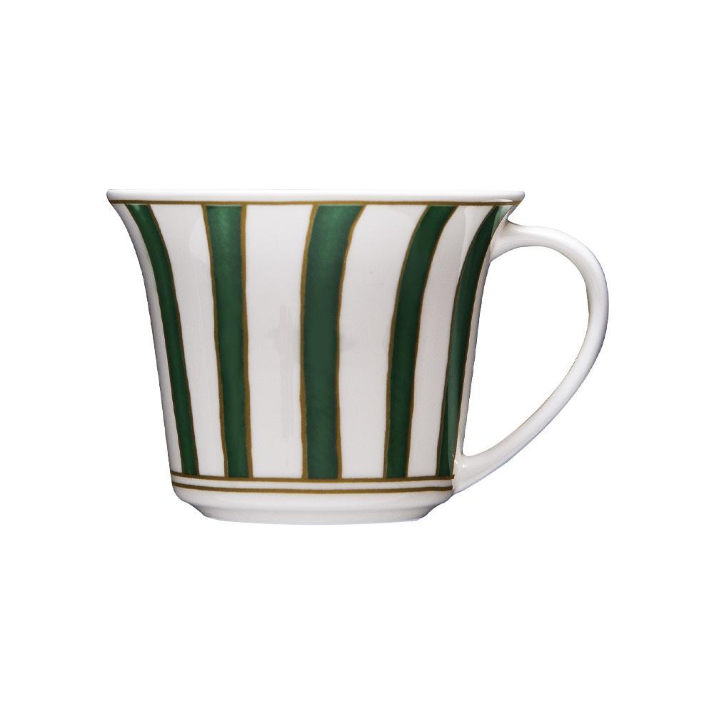 Tazza caffè cc 110 | Striche Verdi e Oro
