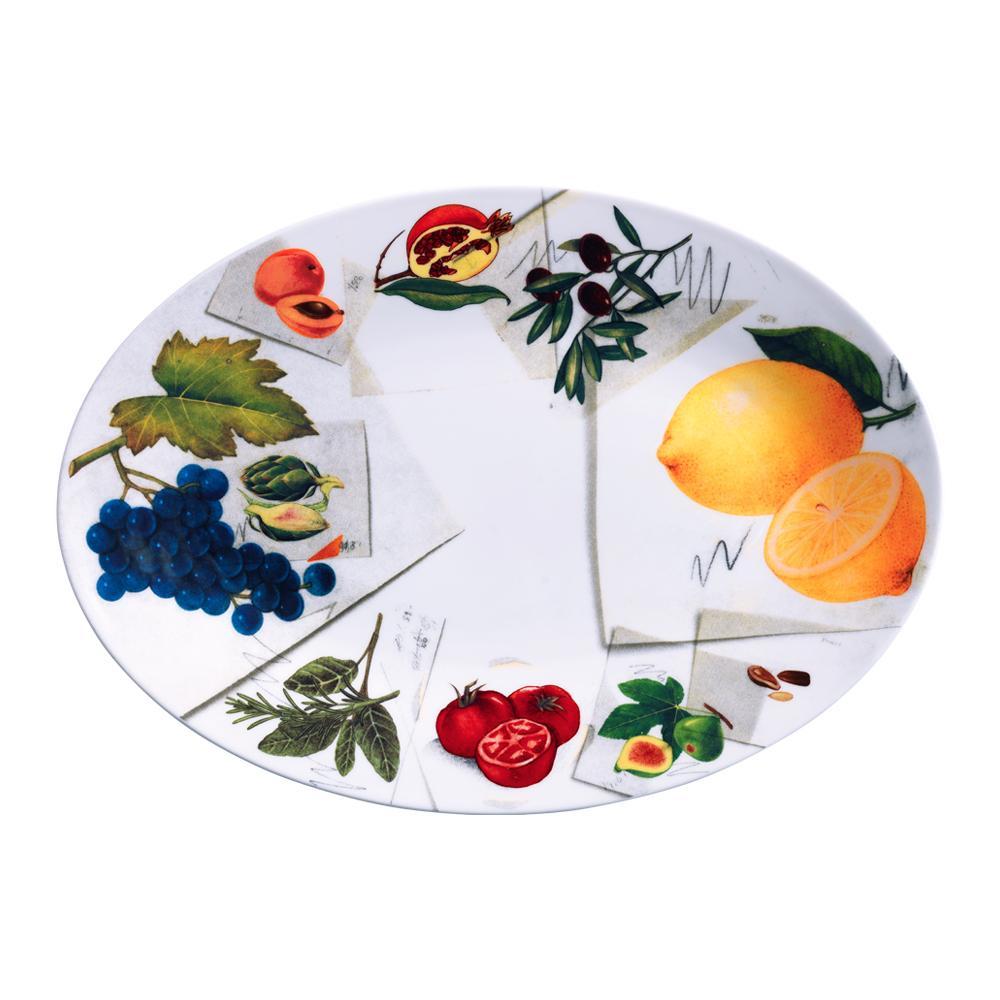 Piatto ovale cm 36 | Vegan | La Cucina Italiana