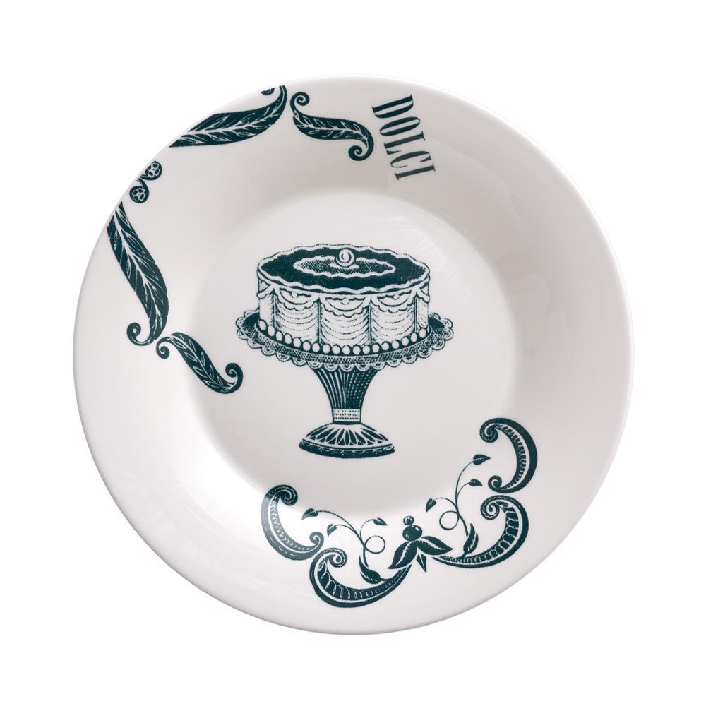 Piatto Dessert - Dolci cm 22 | Vintage | La Cucina Italiana