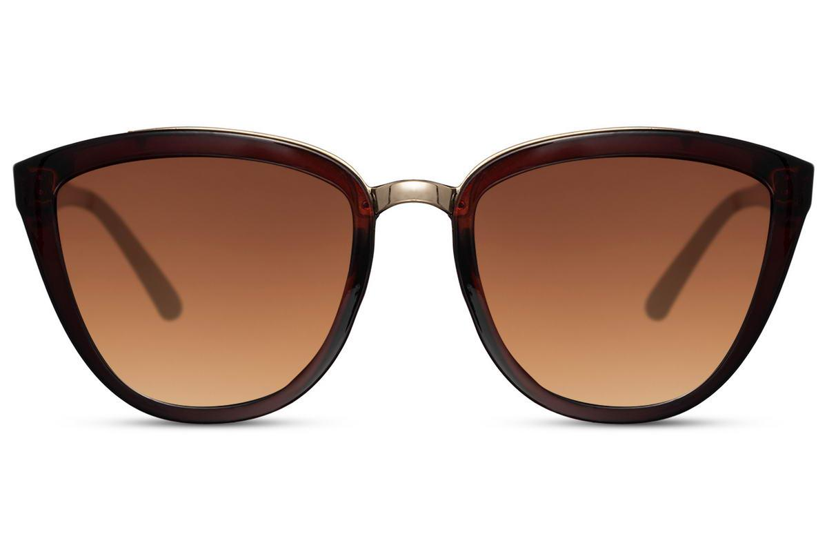 Sunglasses with gradient lenses