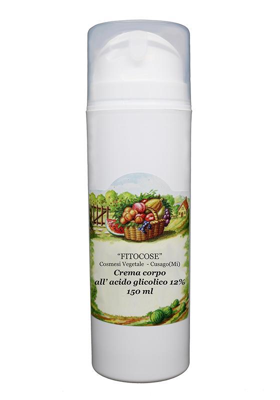 Glycolic body cream | Exfoliating ecobio cream