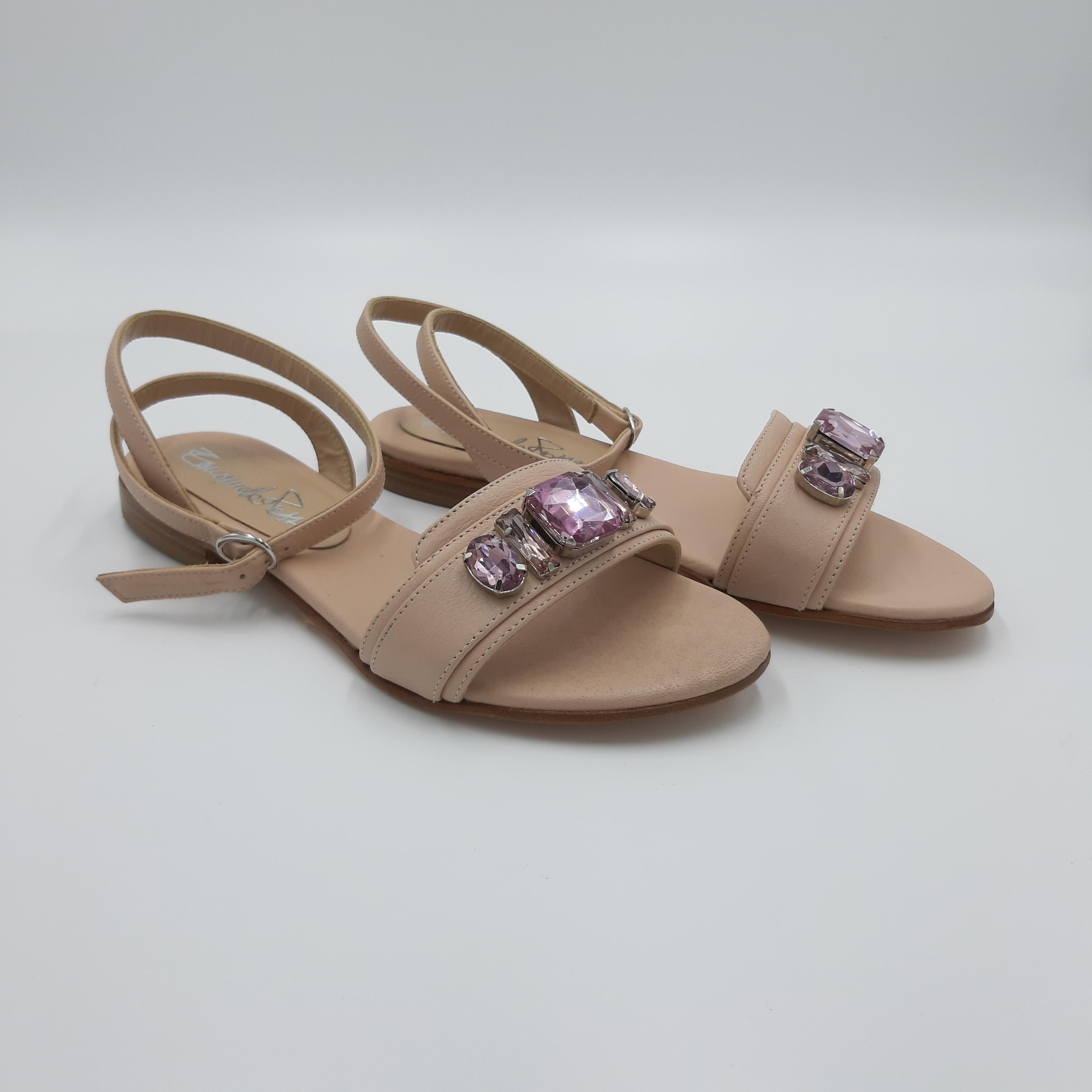 Sandali con gioiello Emanuela Passeri