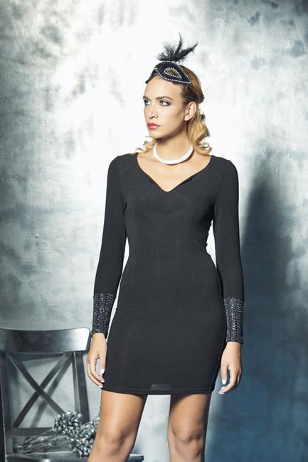 Short fitted dress | Elegant clothing online sale