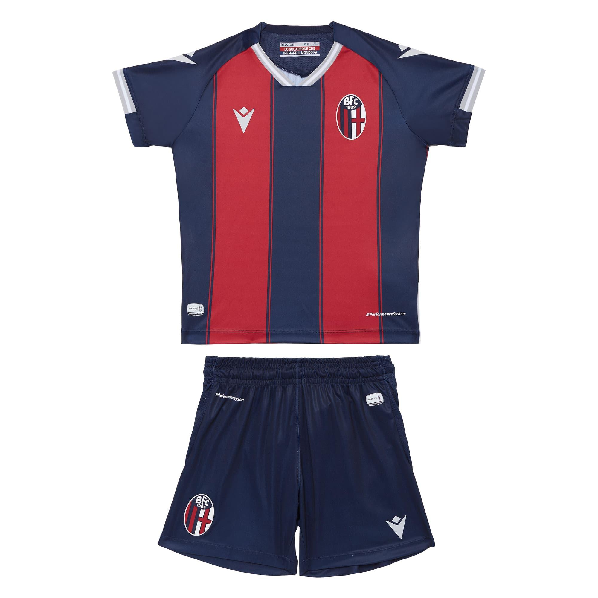 KIT GARA HOME 2020/21 (Bambino) Bologna Fc ...