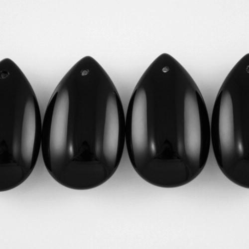 Mandorla 28 mm goccia pendente cabochon