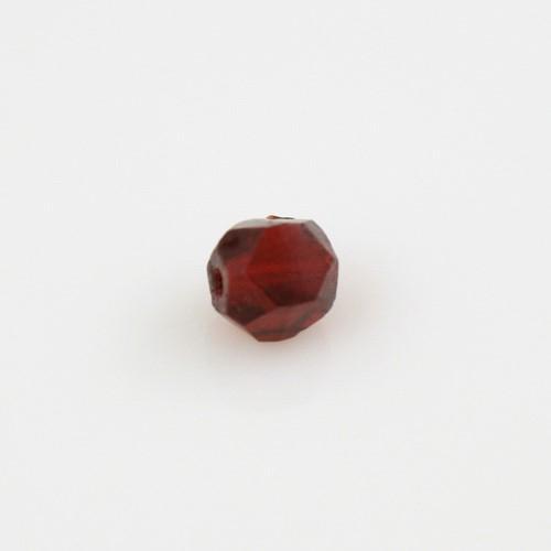 Perle inglesi 6 mm rosse in