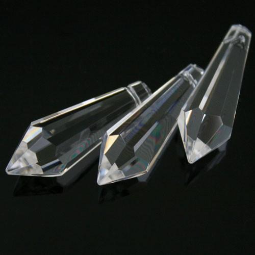 Pendaglio prisma sfaccettato 38 mm cristallo -Asfour 401-
