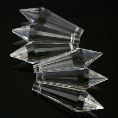 Pendente prisma sfaccettato 38 mm cristallo -Asfour 432-