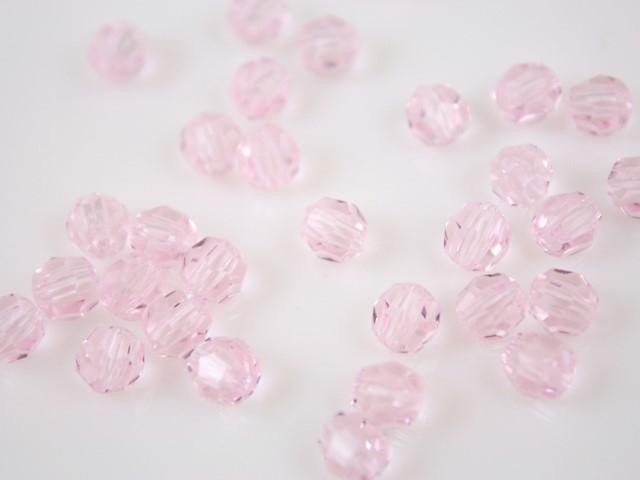 Perla 6 mm sfaccettata Rosaline -Asfour 1502-