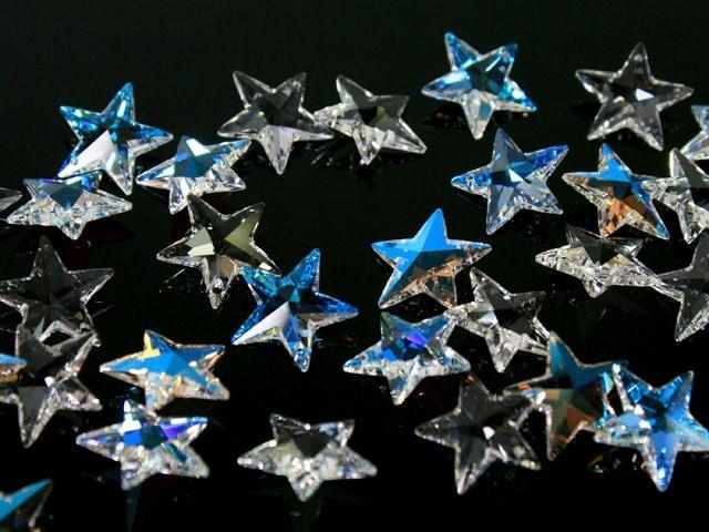 Pendaglio Swarovski stella Cristallo Trasparente 20 mm - 6714 -