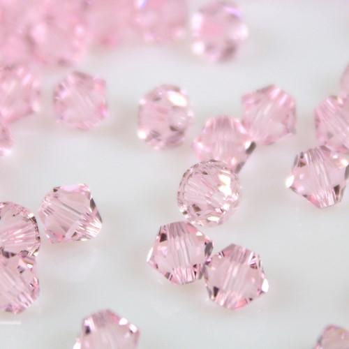 Perla bicono Rosaline 4 mm cristallo Swarovski 5328 bead