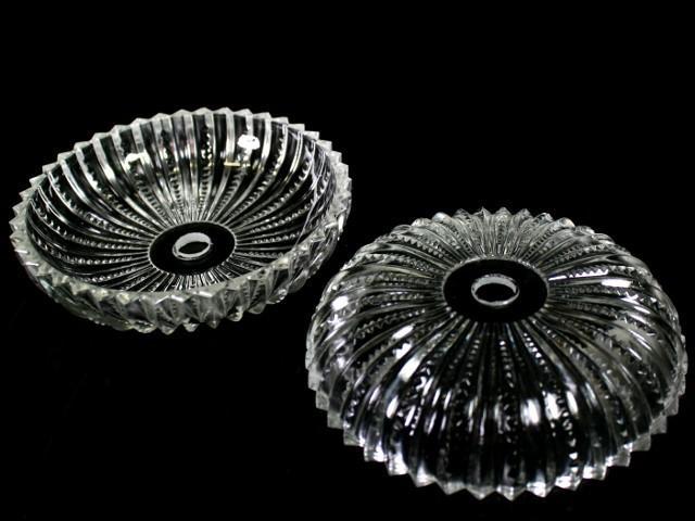 Bobeche lampadari Vetro veneziano Ø 12 cm, foro Ø 12 mm, NO fori laterali