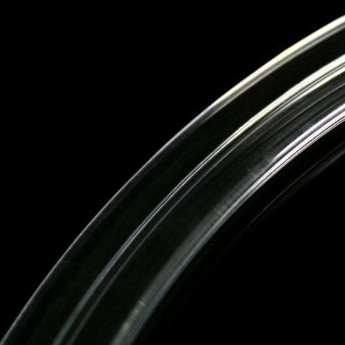 Listello in vetro a C 80 mm di diametro interno.