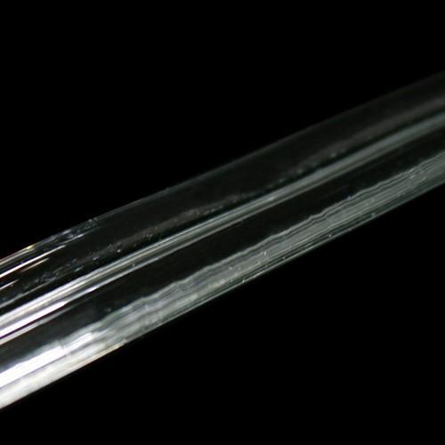 Listello in vetro a stecca dritta, 500 mm.