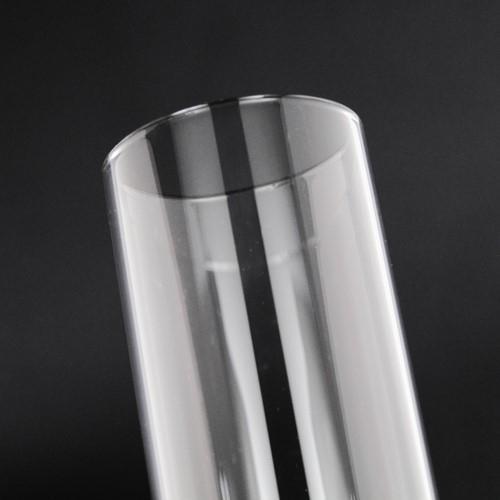 Parafiamma 26 cm in vetro trasparente liscio