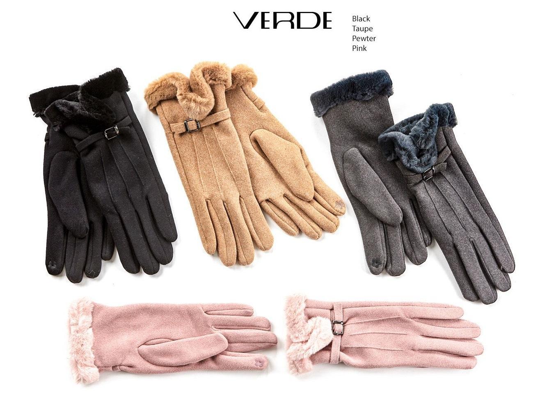Faux-fur gloves | Women's gloves online sale