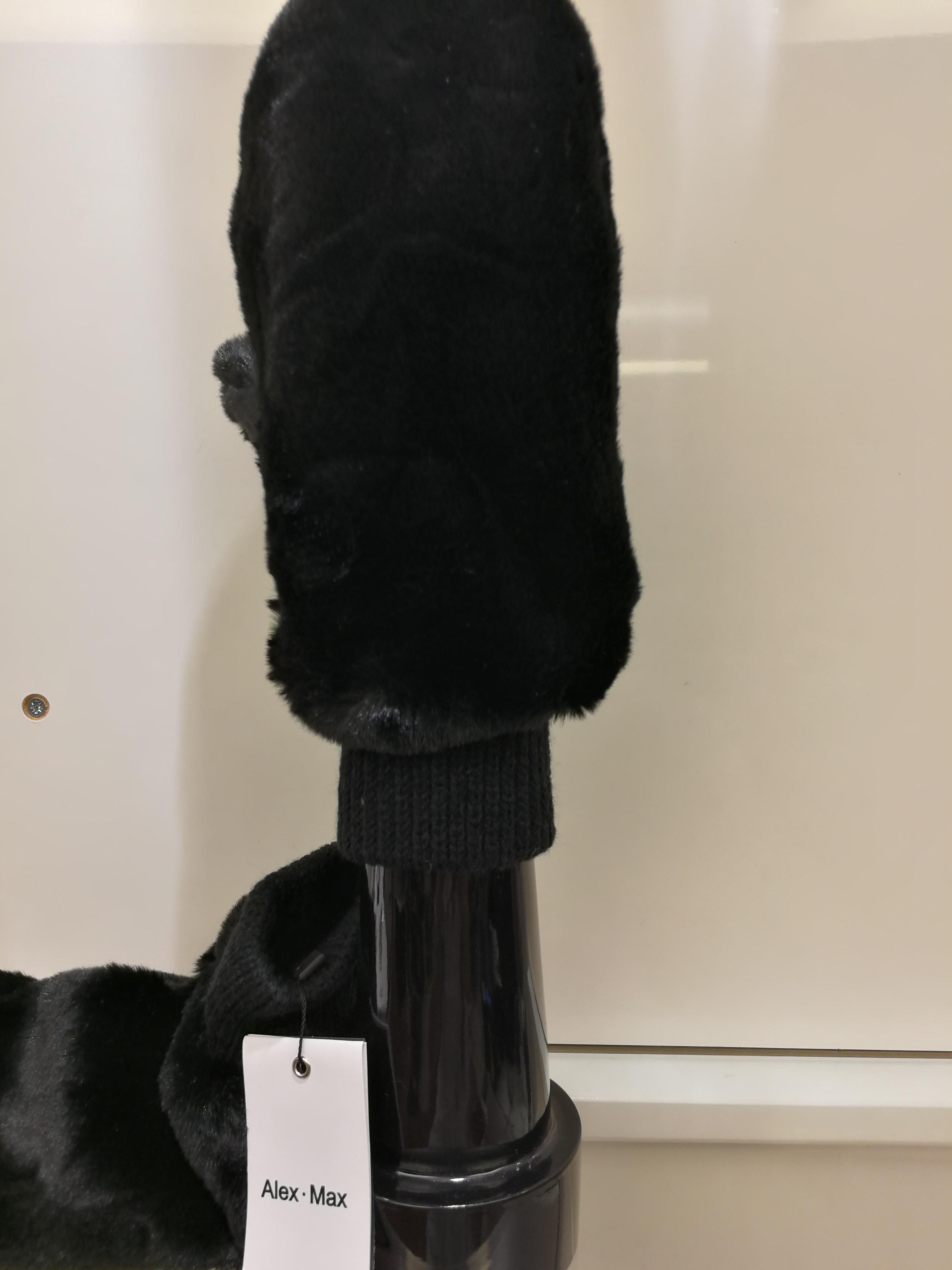 Faux fur mittens | Gloves for women online