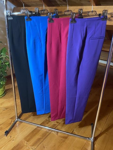 Pantaloni Vicolo con pieghe davanti