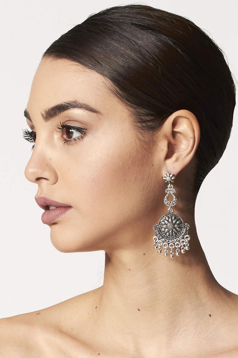 Boho earrings | Online sale of ethnic costume jewellery