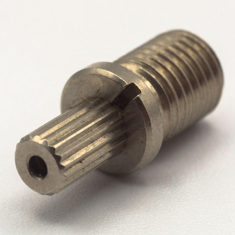 Bloccafilo automatico cromato M8x1 - cavo max Ø1,5 mm.