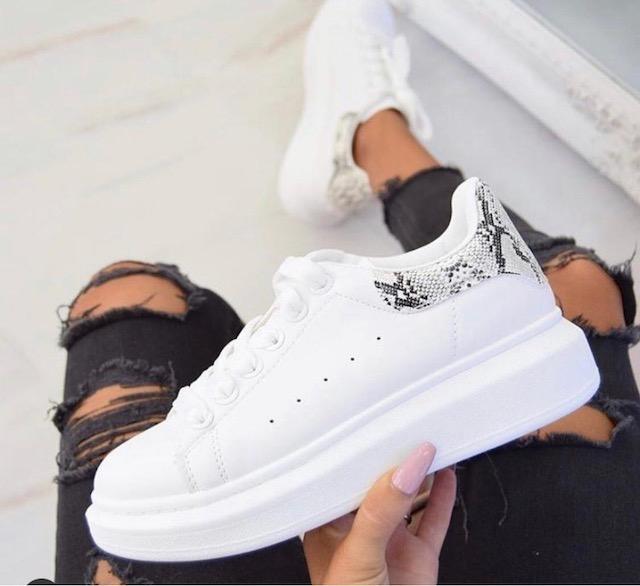 Sneakers profilo pitonatato