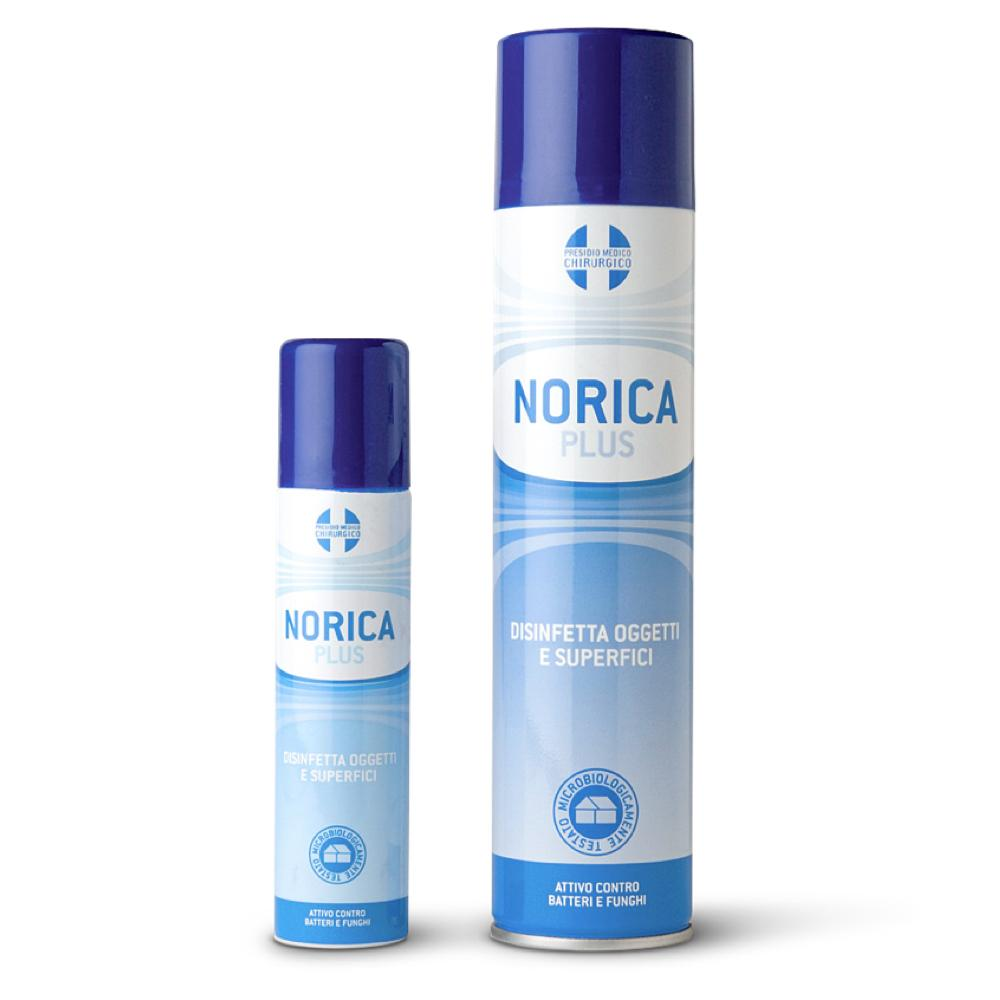 NORICA PLUS - DISINFETTANTE SPRAY PER OGGETI E SUPERFICI