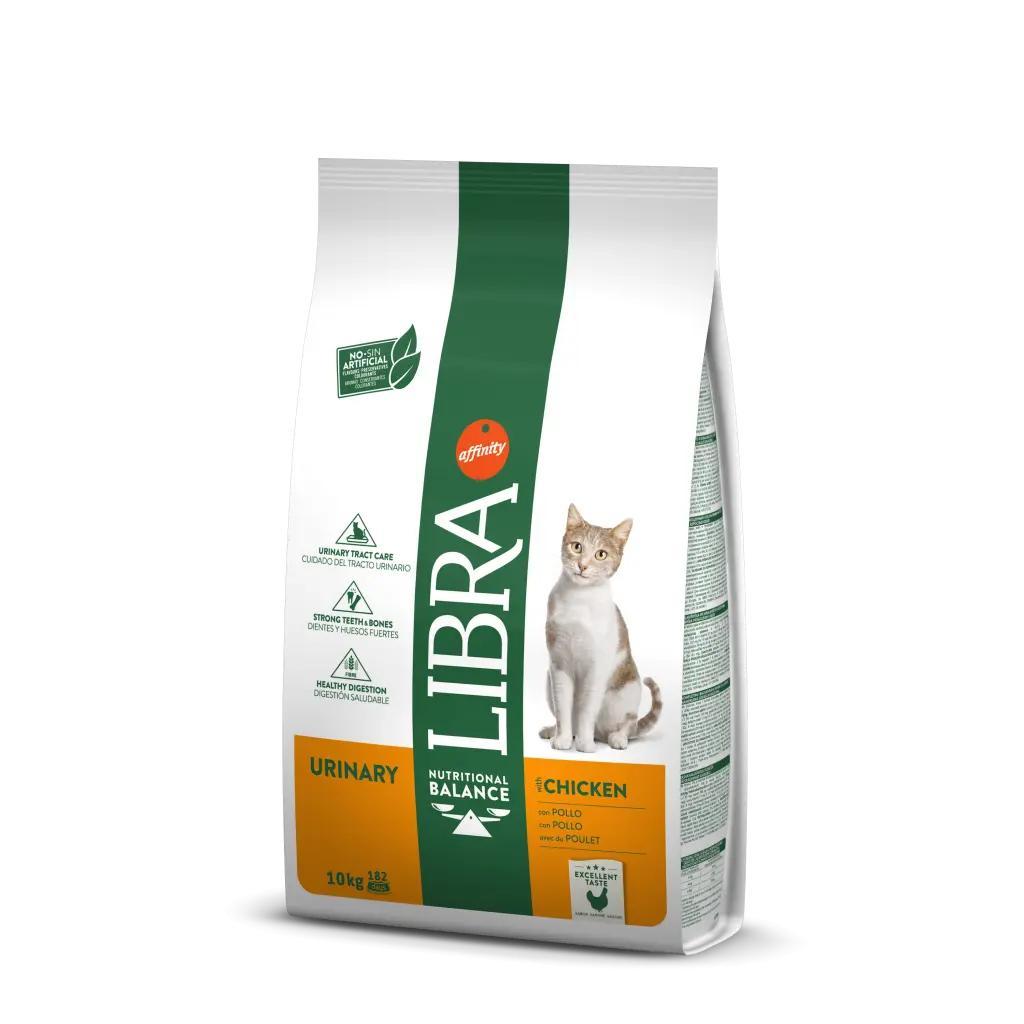 Mangime per gatti sterilizzati AFFINITY LIBRA URINARY con pollo