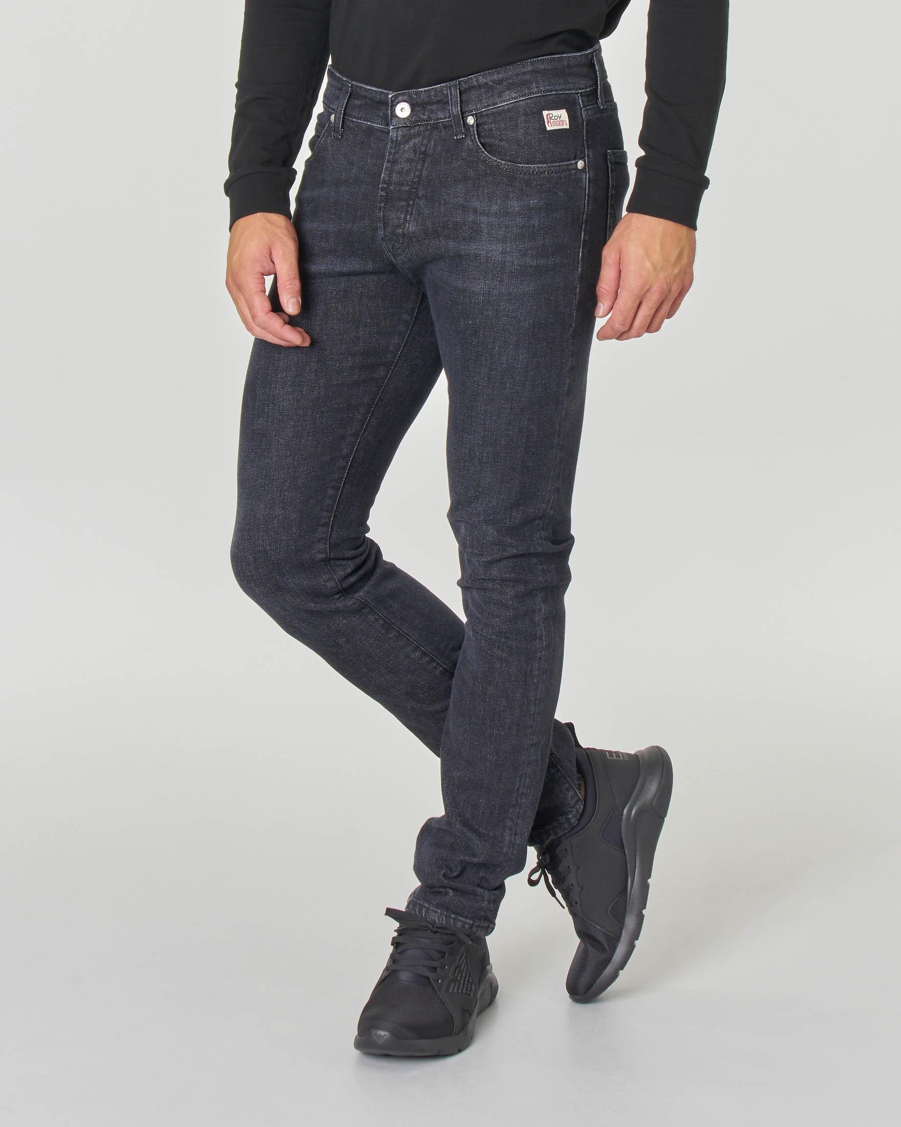 Jeans 529 Pistone lavaggio nero stone washed