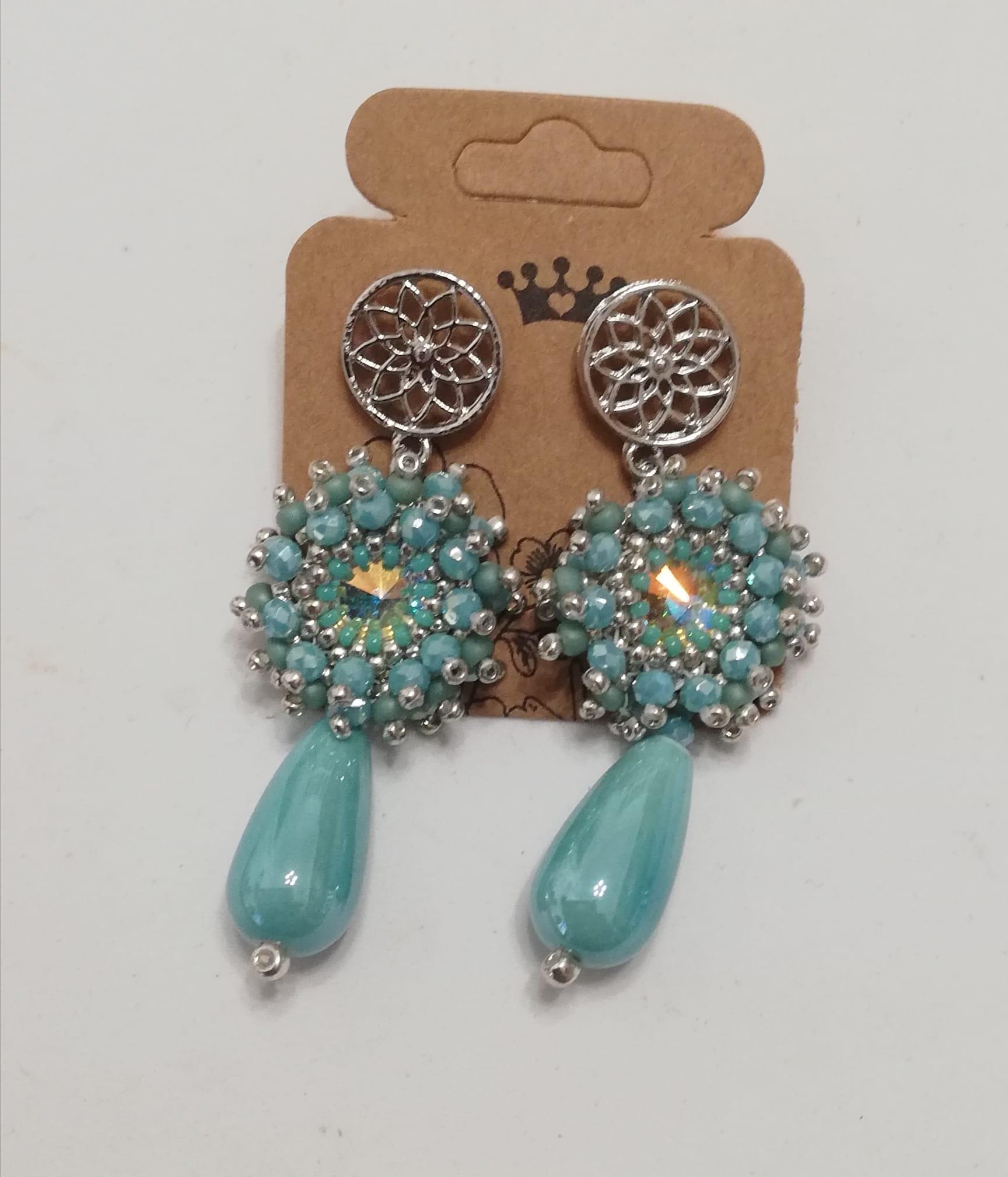 Boucles d'oreilles mariage | vente en ligne bijou artisanat