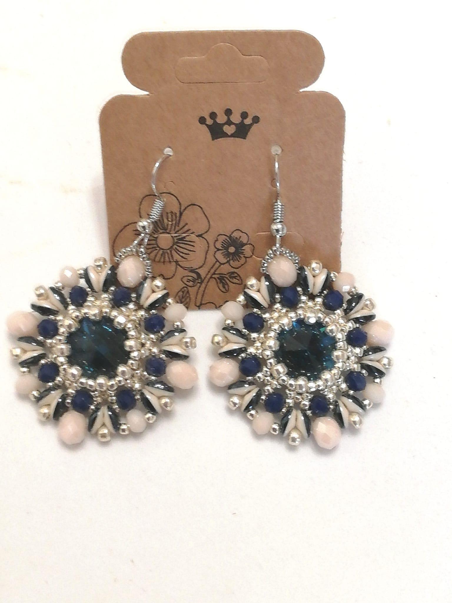 Orecchini tessitura di perline | vendita on-line
