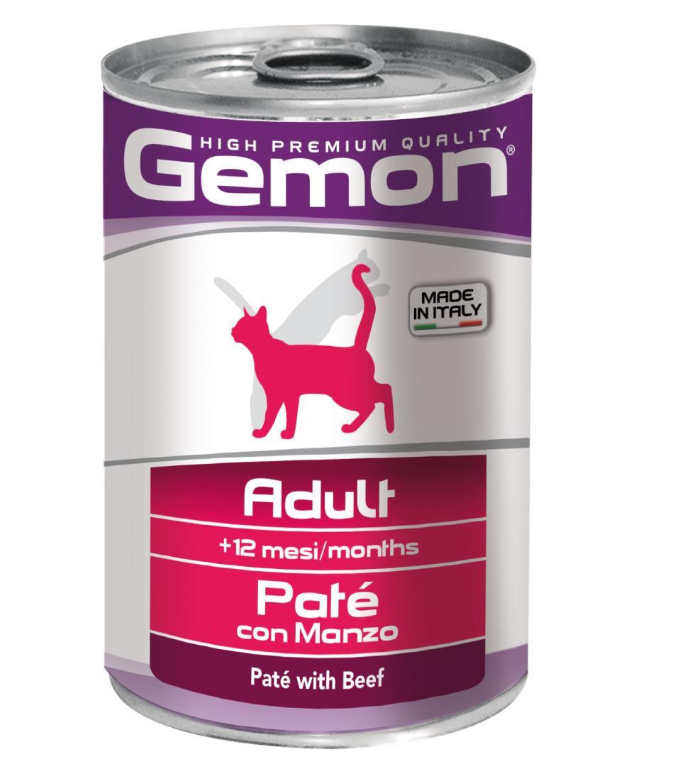Gemon Cat - Patè - 400g x 24 lattine