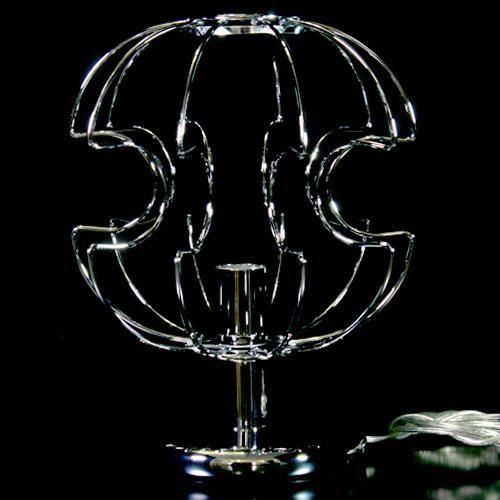 Telaio metallico cablato per lampada da tavolo h 35 cm