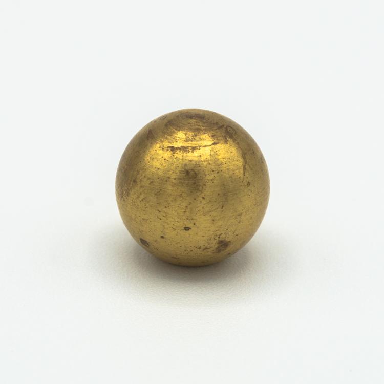 Finale ottone grezzo a sfera Ø14 mm foro interno M5