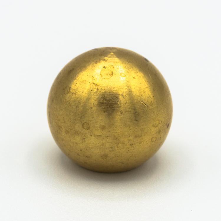 Finale ottone grezzo a sfera Ø20 + M10x1