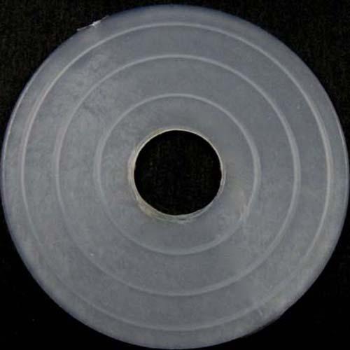 Guarnizione rondella gommino Ø50 mm foro interno 13 mm PVC colore neutro
