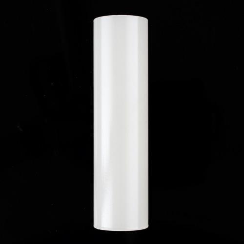 Guscio vetro copri porta-lampada E14 in vetro bianco h120 mm diametro interno 28 mm