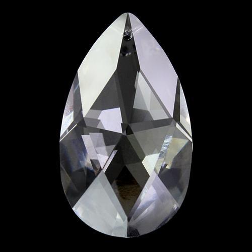 Mandorla Spectra Swarovski taglio classico da 63 mm color cristallo.