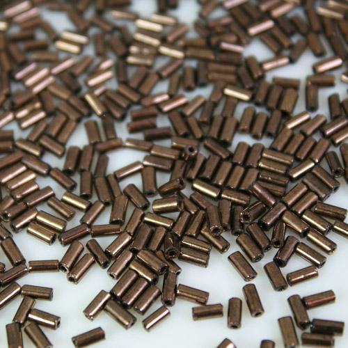 Perline di conteria cannette fumè 5 mm vetro di Murano