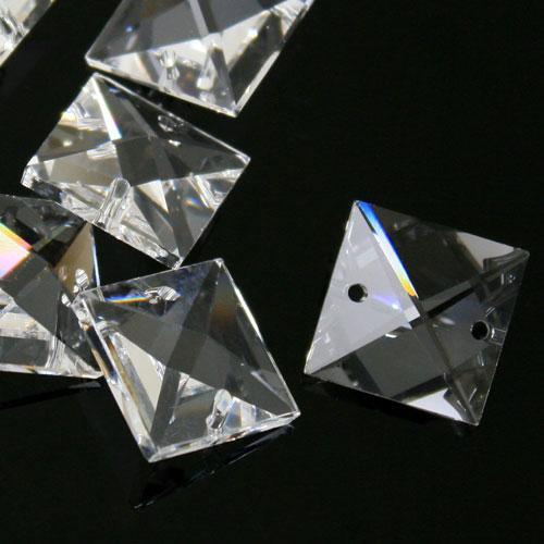 Quadruccio 22 mm cristallo sfaccettato due fori -Asfour 2020- per lampadari