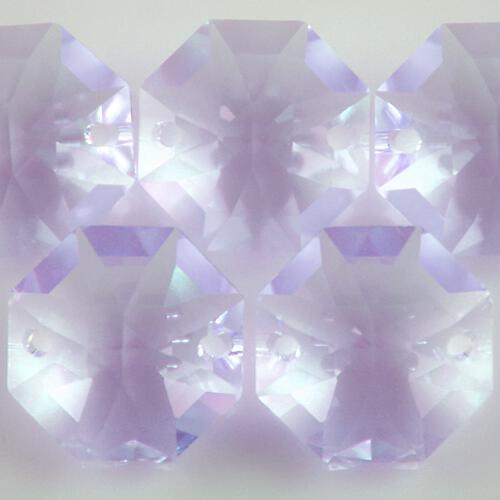 Swarovski - Cristallo ottagono doppio foro Violet 14 mm - 8116 -