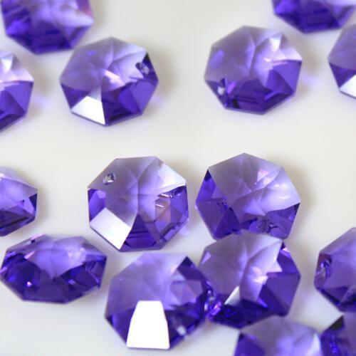Swarovski - Cristallo ottagono foro singolo Blue Violet 14 mm - 8115 -
