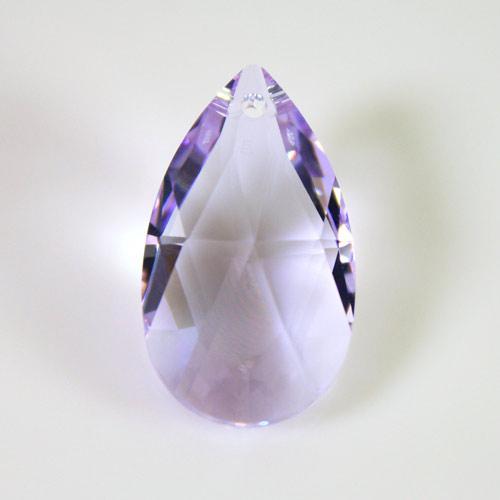 Swarovski pendente mandorla sfaccettata, taglio classico cristallo Violet 28 mm - 8721 -