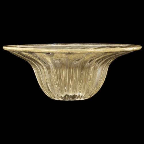 Tazza Ø14 ricambio Murano lampadari vetro tutto oro