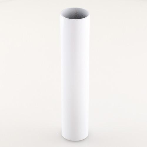 Tubo cover copri-portalampada Ø30 mm, h 150 mm colore bianco